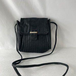 FENDI Vintage Striped Mini Crossbody Bag